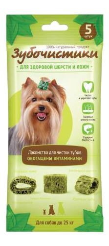 Лакомство для собак Деревенские лакомства Зубочистики Авокадо, для мелких пород, 35г