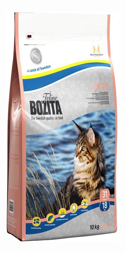 Сухой корм для кошек BOZITA Function Large, рыба, 10кг, Function Large