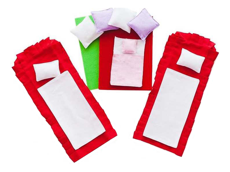 Набор текстиля Paremo для домиков бежевый PDA315-01 фото