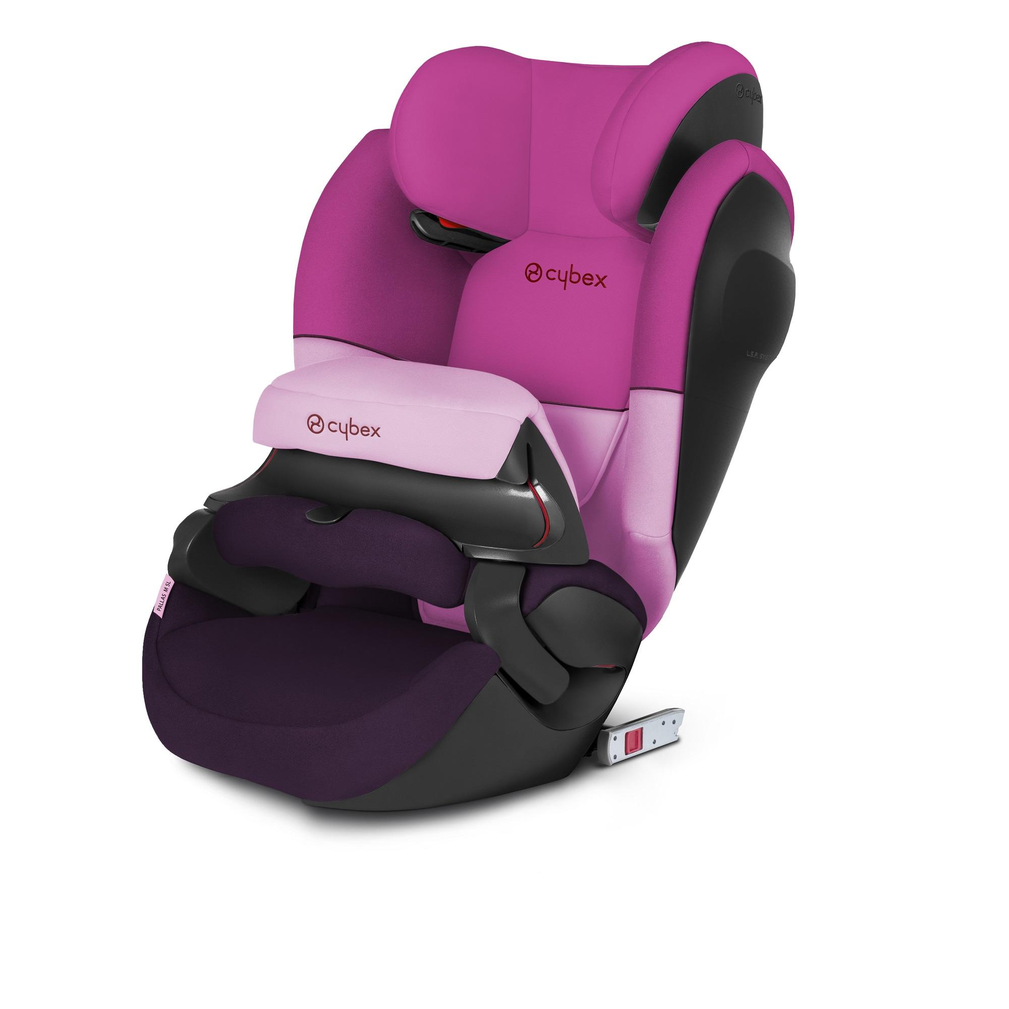 Купить Автокресло Cybex Pallas M-Fix SL Purple Rain группа 1/2/3, 9-36 кг, Детские автокресла