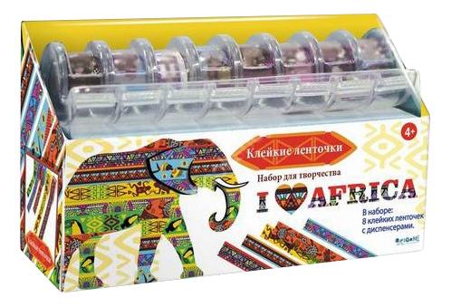 Наклейка декоративная для детской комнаты Оригами Я люблю Африку