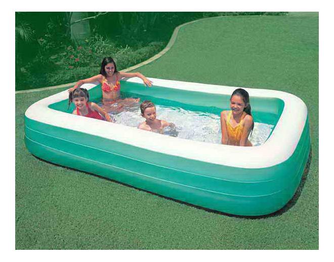 Купить Бассейн надувной INTEX Swim Center, Детские бассейны