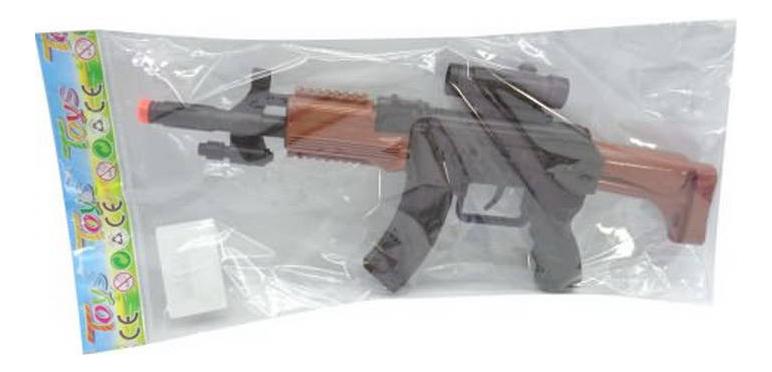 Купить Автомат-трещотка, Автомат Shantou Gepai 16x3x36 см, Стрелковое игрушечное оружие