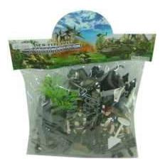 Фигурка Shantou Gepai Солдатики пластмассовые с аксессуарами