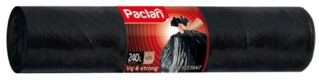 Мешки для мусора Paclan Big #and# Strong 240л 20шт