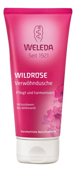 Гель для душа WELEDA розовый нежный 200 мл