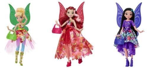 Купить Кукла Disney FAIRIES Делюкс с сумочкой, 23 см в ассортименте, Disney Princess, Классические куклы