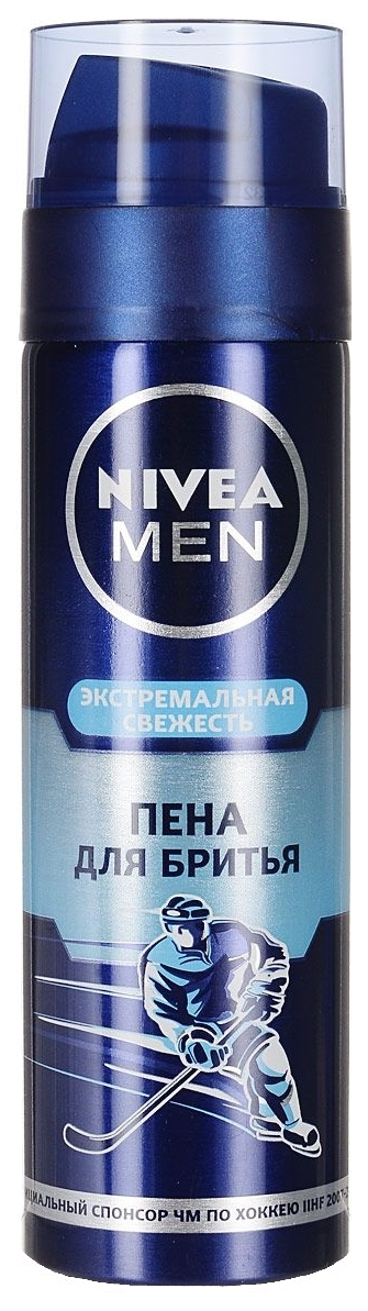 Пена для бритья NIVEA Экстремальная свежесть мужская
