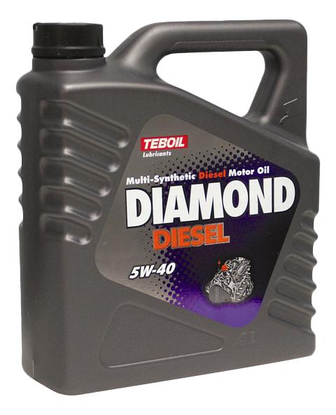 Моторное масло Teboil Diamond Diesel 5W-40 4л фото