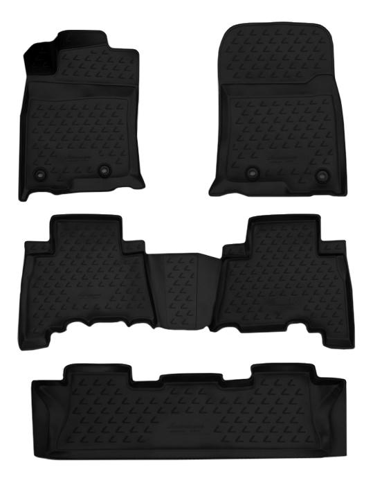Комплект ковриков в салон автомобиля Autofamily для Lexus (NLC.3D.29.29.210k)