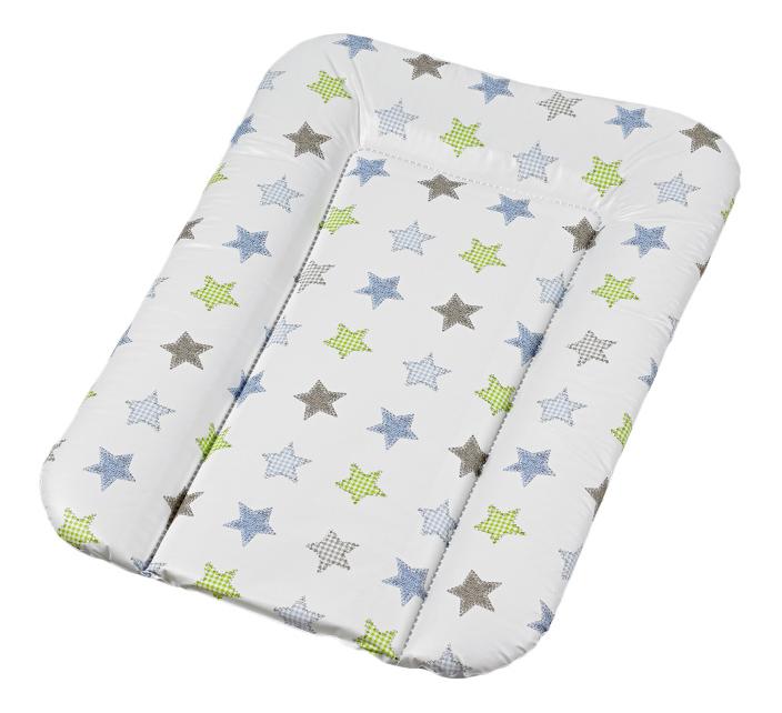 Накладка для пеленания Geuther белая со звездами 5832032