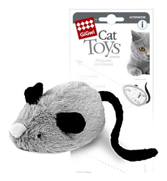 Мягкая игрушка для кошек Gigwi, Искусственный мех, 19 см