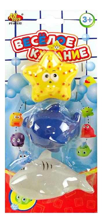 Купить Игрушка для купания ABtoys Веселое купание, Игрушки для купания малыша