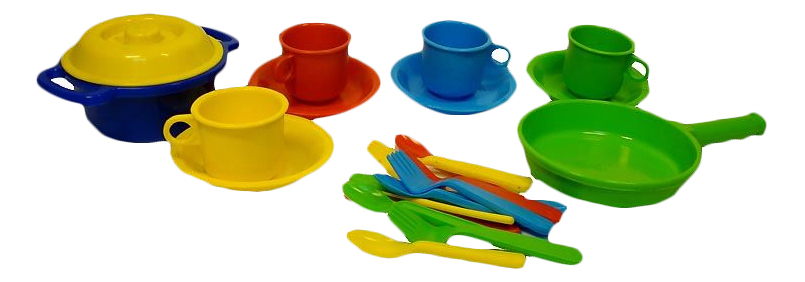Набор посуды игрушечный Росигрушка Настенька.