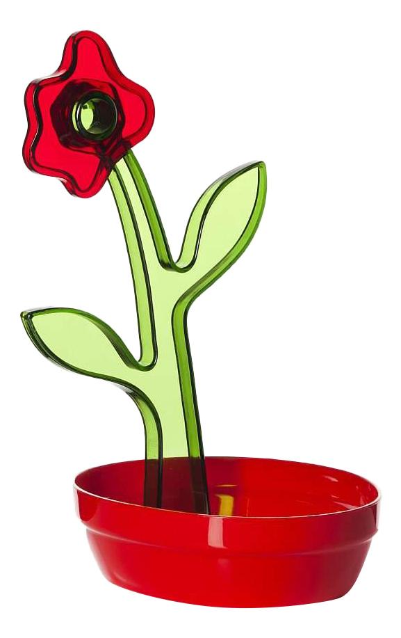 Подставка для столовых приборов HEREVIN Красно-зеленая