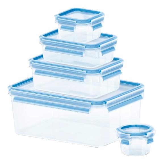 Контейнер для хранения пищи Tefal Clip#and#Close 5 шт, (K3029012)