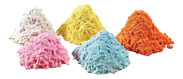 Купить Кинетический и космический песок DONERLAND 5-Color Pack 2 кг, Лепка