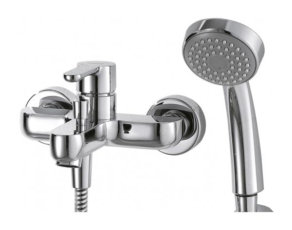 Смеситель для ванны BRAVAT Stream F63783C-B хром
