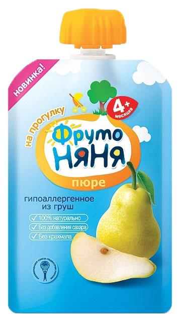 Пюре фруктовое ФрутоНяня из груш с