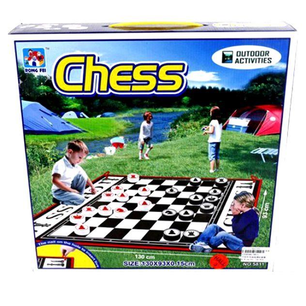 Семейная настольная игра Shantou Gepai шахматы и шашки 5811 фото