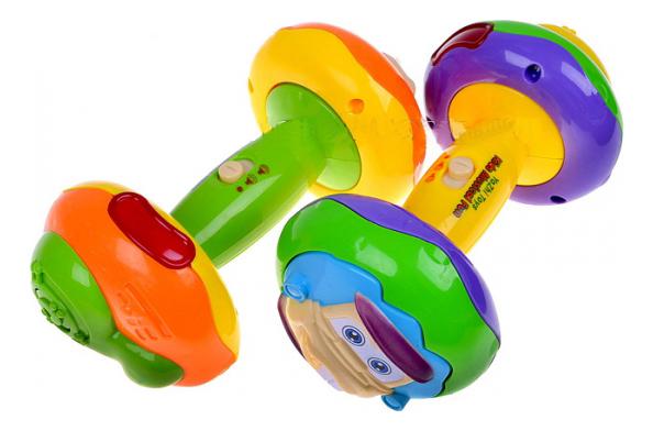 Интерактивная игрушка Joy Toy Малыш крепыш