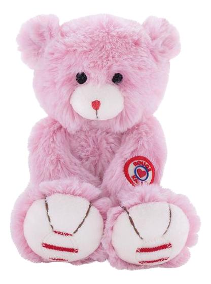 Купить Руж. Мишка розовый 19 см, Мягкая игрушка Kaloo Руж Мишка Розовый 19 см K963544, Мягкие игрушки животные