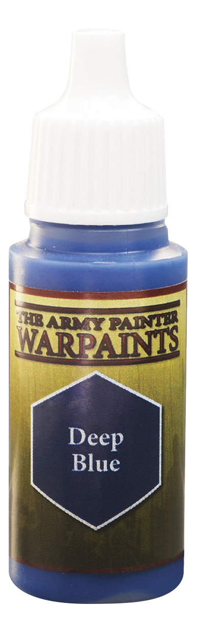 Краски для моделизма Army Painter Warpaints Deep Blue