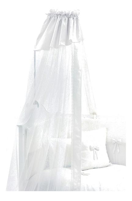 Балдахин для детской кроватки Funnababy Premium Baby белый