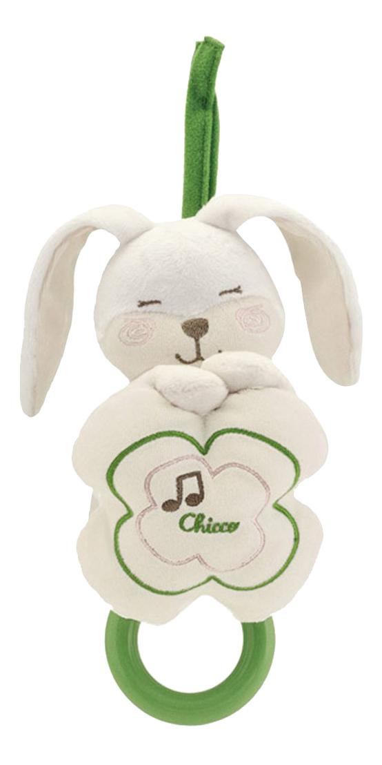 Купить Музыкальная подвеска для кроватки Chicco Мягкий зайчик 27260, Подвесные игрушки