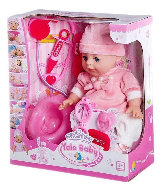 Купить Пупс baby с горшком и с аксессуарами доктора 33 см Gratwest Д85849,
