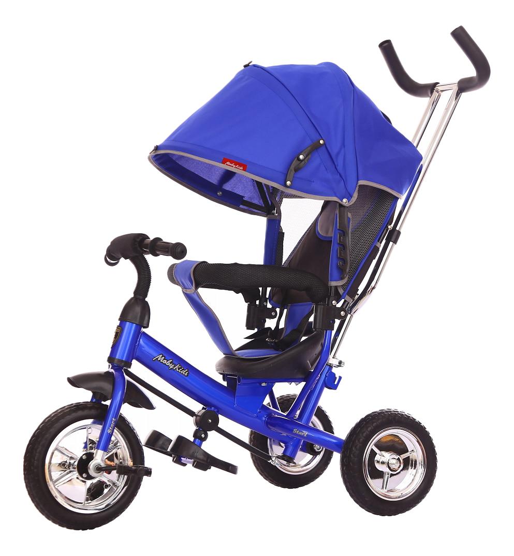 Велосипед трехколесный Moby Kids Start синий