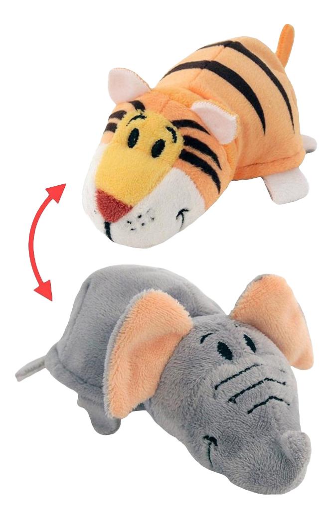 Мягкая игрушка Вывернушка 2 в 1 Тигр-Слон 1 TOY Т10876 фото
