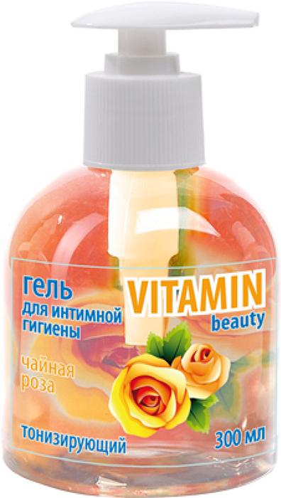 Гель Vitamin для интимной гигиены Чайная роза