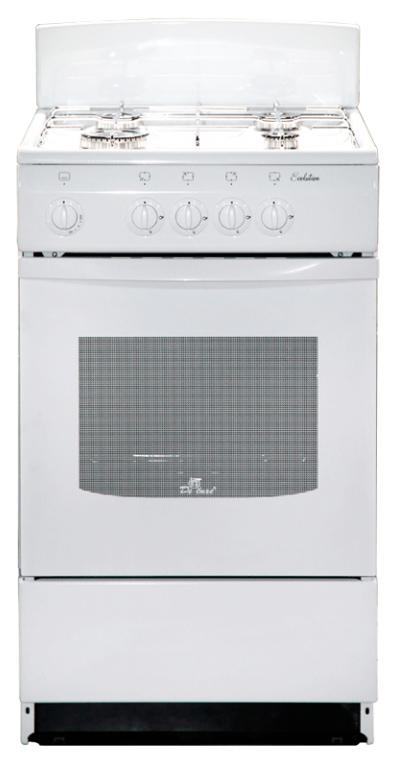Газовая плита DeLuxe 5040.45 г щ White