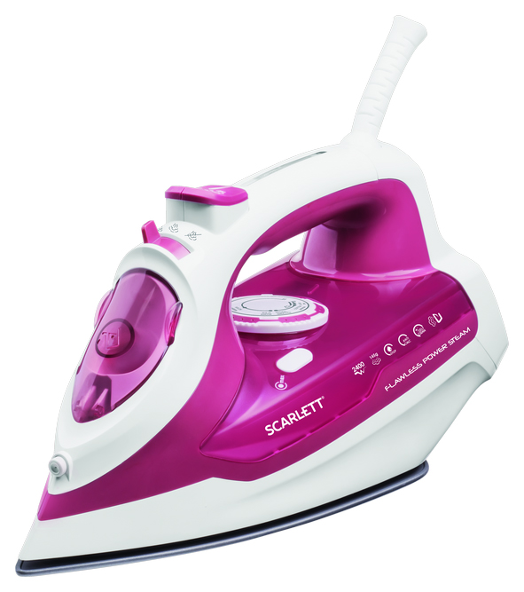 Утюг Scarlett SC   SI30K28 White/Pink