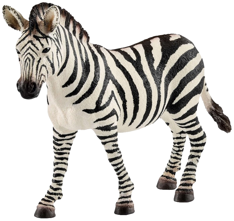 Купить Фигурка животного Schleich Кобыла зебры 14810, Игровые фигурки