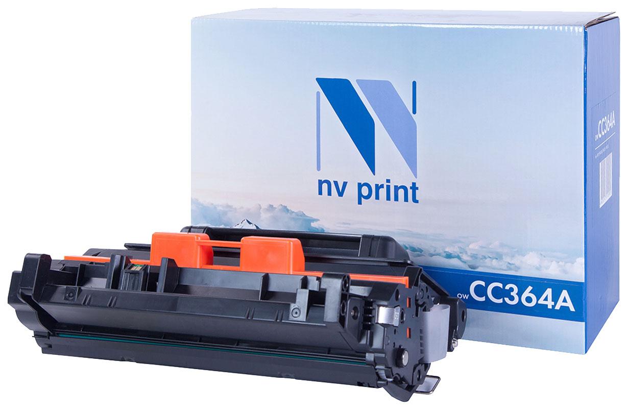 Картридж NV Print CC364A Черный  - купить со скидкой
