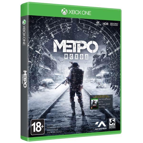 Игра Метро: Исход Издание первого дня для Xbox One