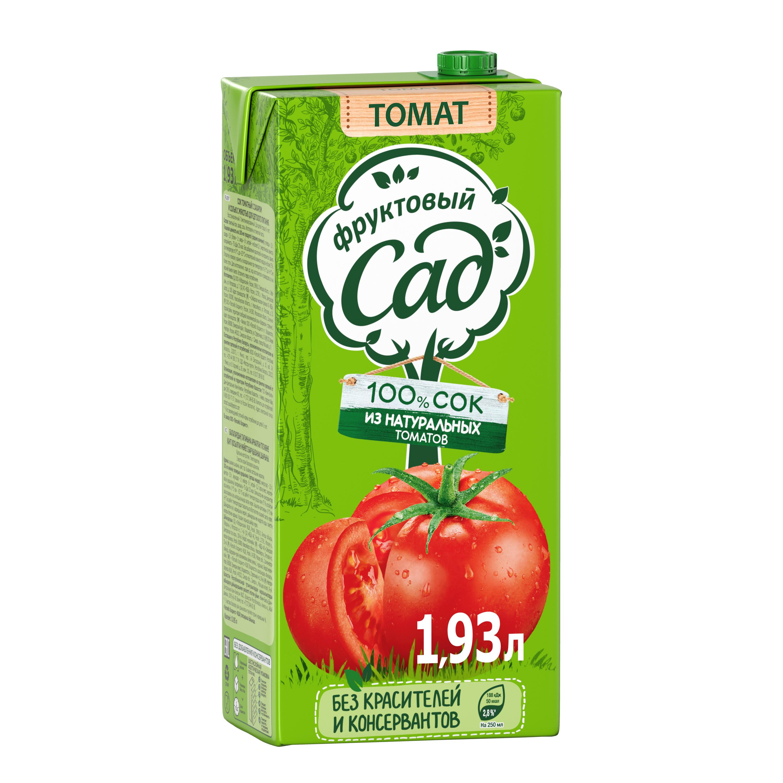 Сок Фруктовый Сад томат 1.93 л фото