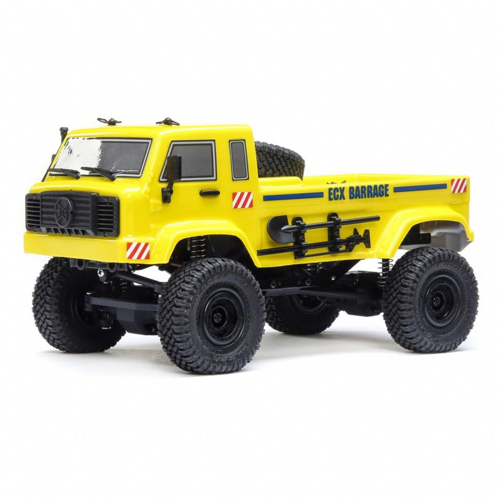 ECX SCALER CRAWLER BARRAGE UV 4WD RTR YELLOW