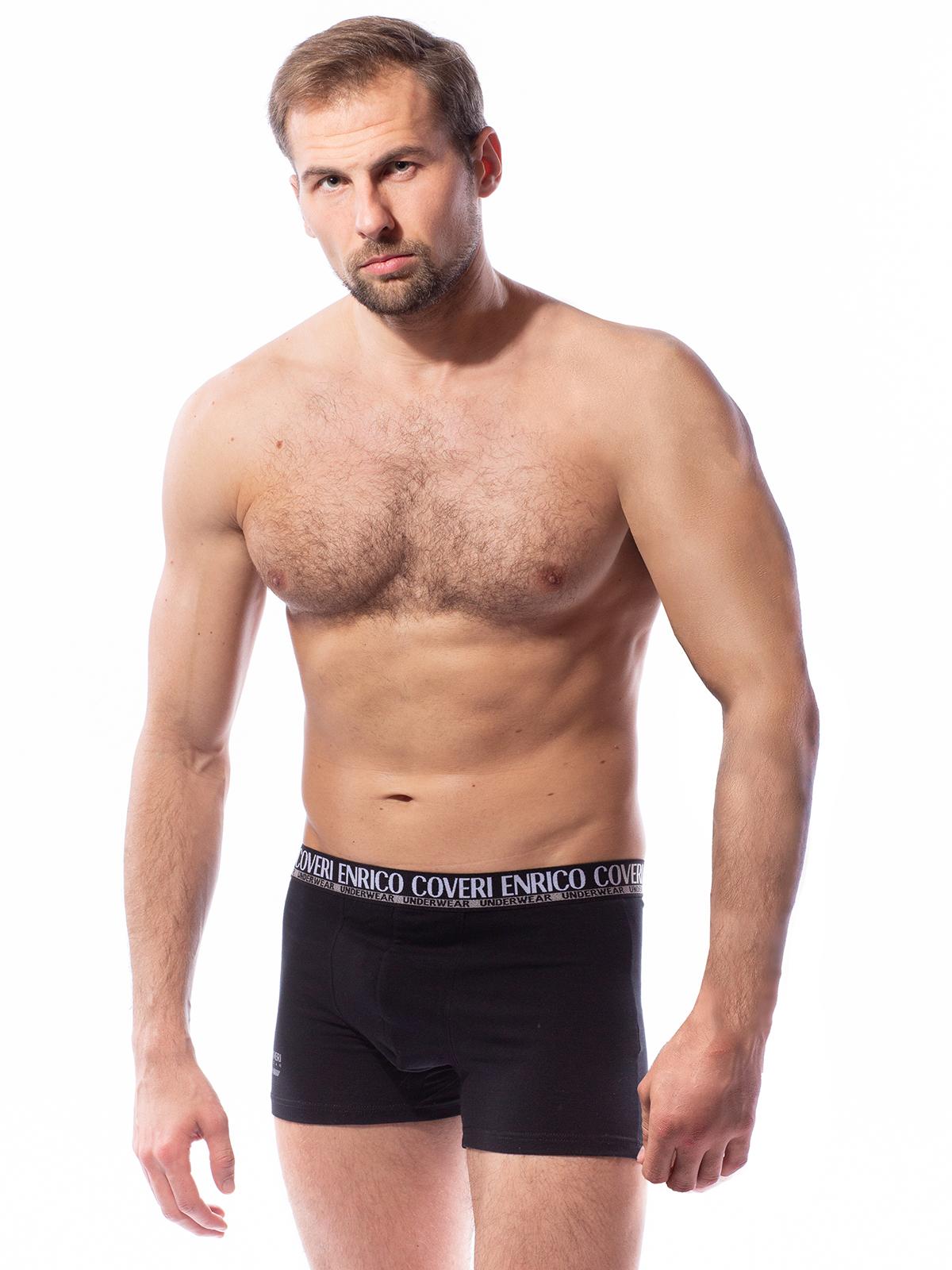 Трусы боксеры мужские Enrico Coveri черные L