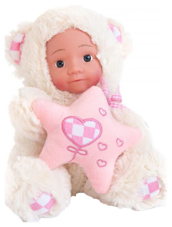 Купить Кукла Anna De Wailly . Медвежонок со звездочкой, 20 см, Город Игр, Классические куклы