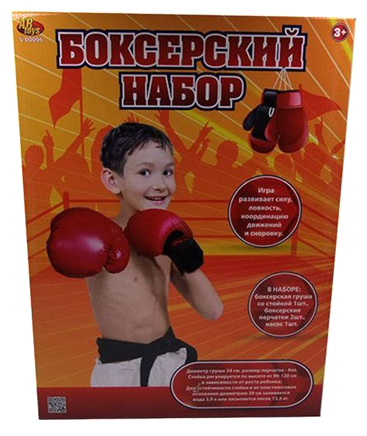 Набор боксерский ABtoys 4 предмета 98501 TN