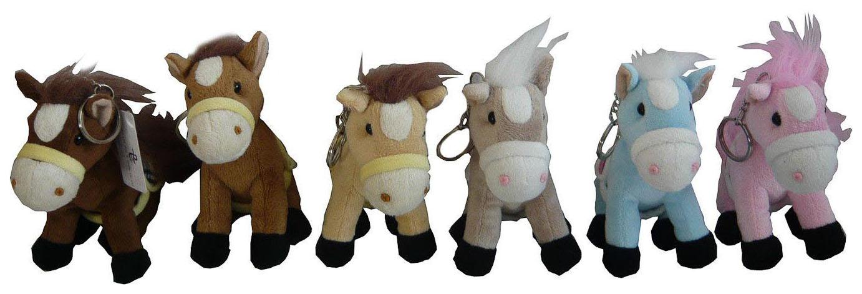 Купить Мягкий брелок Snowmen лошадка брелок 19см 6в., Аксессуары для ранцев и рюкзаков