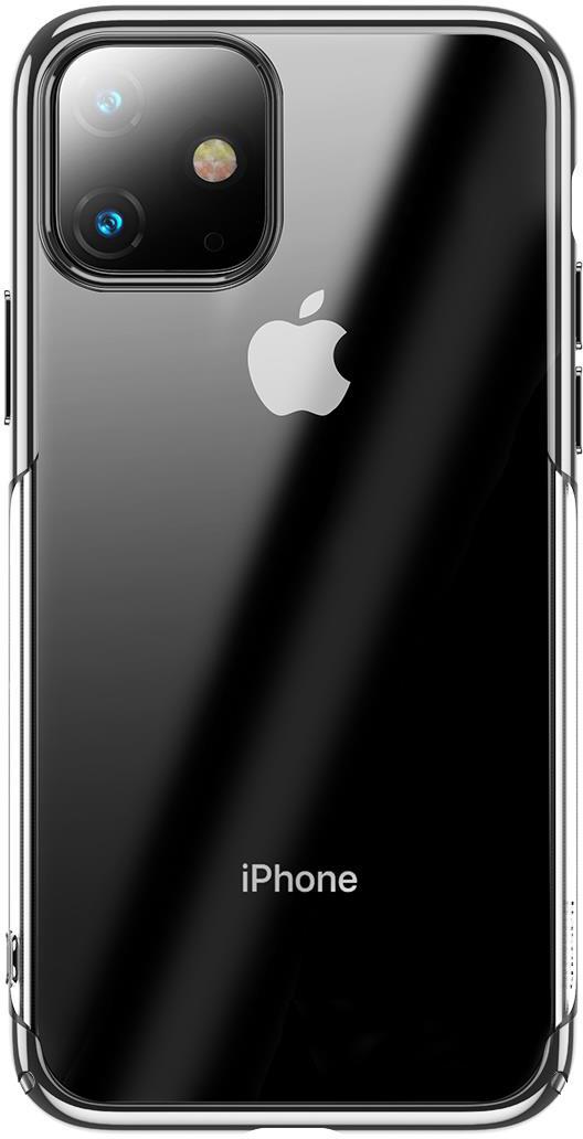 Чехол Baseus Glitter  для iPhone 11 Silver