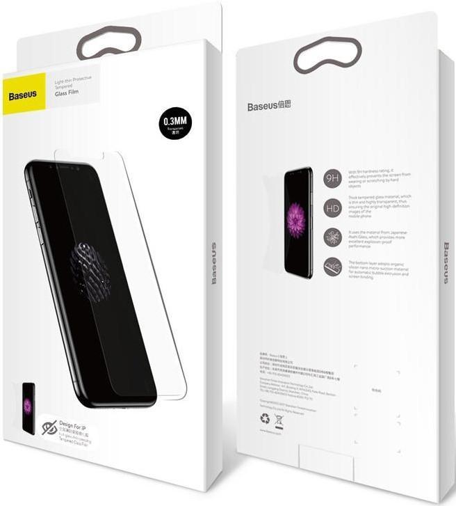 Защитное стекло Baseus Full-glass Anti-peeping Tempered Glass Film для iPhone 7/8