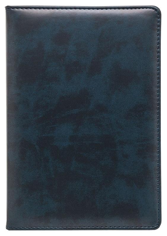 Ежедневник датированный на 2020 год Lord, А5, 176 листов, линия, темно-синий, золотой срез