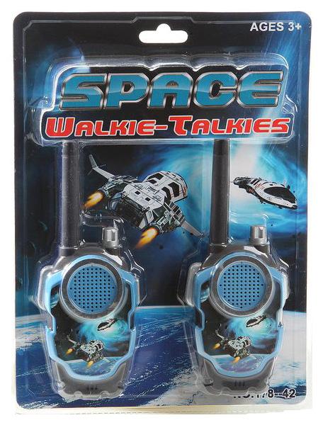 Шпионский набор Shantou Gepai space walkie talkies
