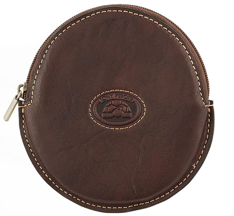 Монетница женская Tony Perotti 333292 коричневая