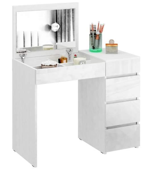 Туалетный столик Триверо 1 Глянец белый/белый